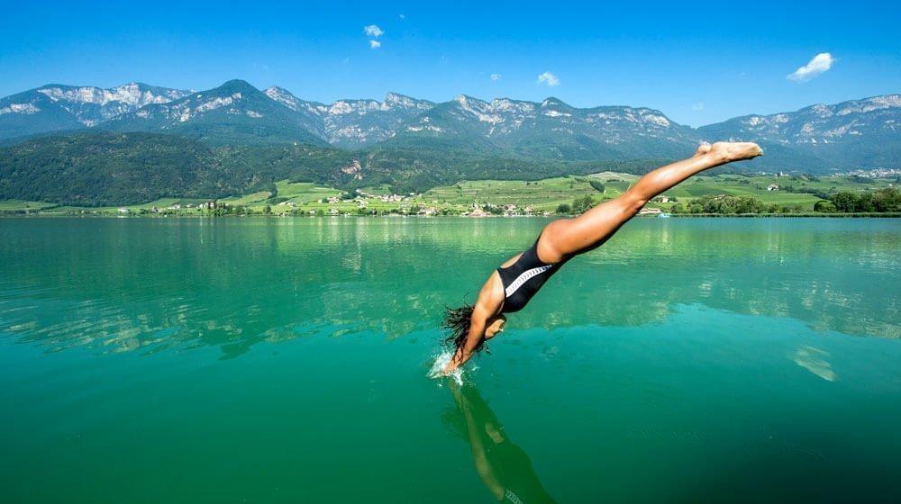 Urlaub am Kalterer See – dem wärmsten Badesee in den Alpen