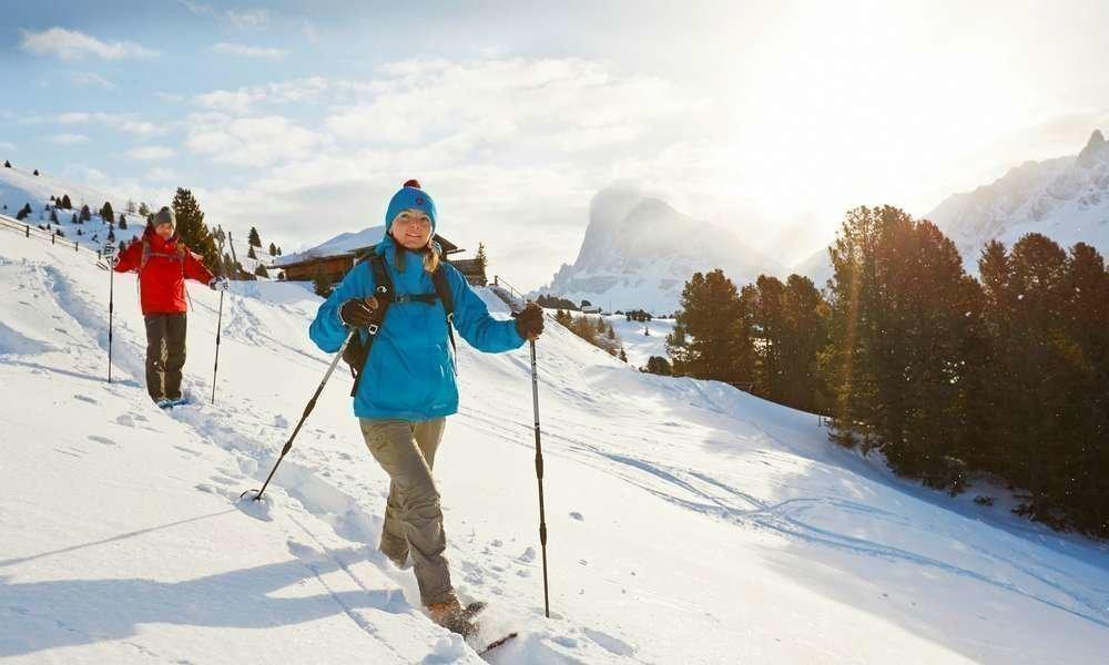 Winterwandern am Kalterer See und bis auf einsame Gipfel hinaus